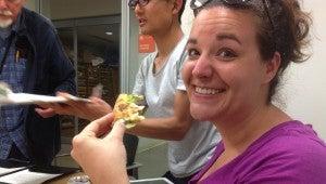 Sarah last munch